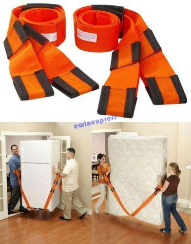 New Weight Lifting Moving Wrist Straps Forearm Forklift Delivery Transport Rope Belt Home Furniture Carry Tools