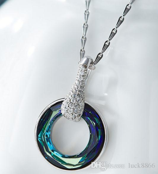 S925 Halskette aus reinem Silber Kristalldiamant, Kettenverteilung
