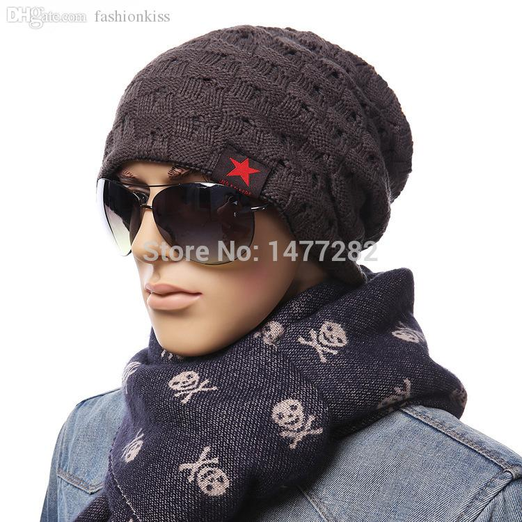 690e86bb11360 Wholesale Fashion Reversible Hat Winter Small Five Pointed Star Cap Beanie  For Men Women Winter Beanies Warm Knitted Hats Caps Mz1048 Skull Cap Beanie  Boo ...