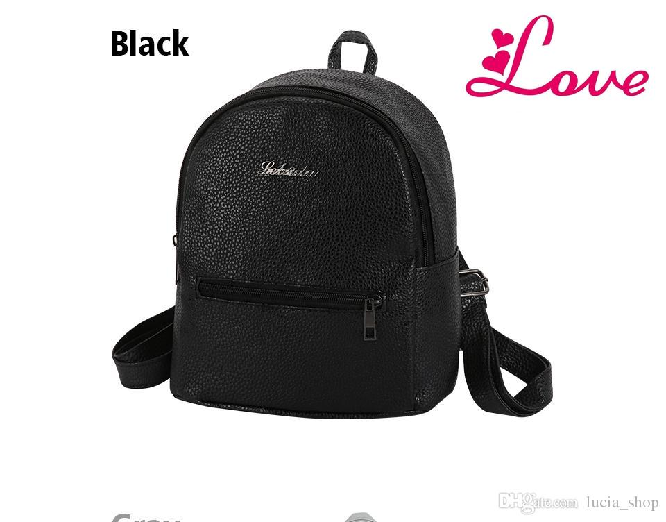 LUCIA S New Small Fashion Casual Women Rucksack High Quality Package  Shopping Bag Ladies Famous Designer Travel Backpack High Quality Backpack  Bra China ... 43bea906d5b90