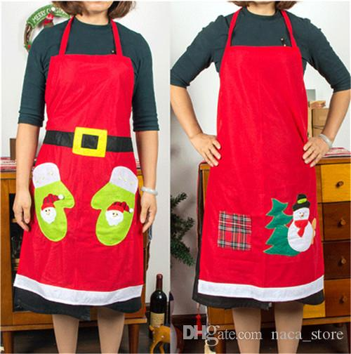 Mine Adult holiday aprons all not