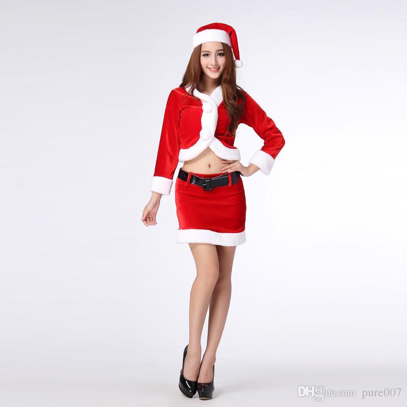 Christmas Dress 2015 Sexy Lingerie Fantasy Christmas Costumes ...