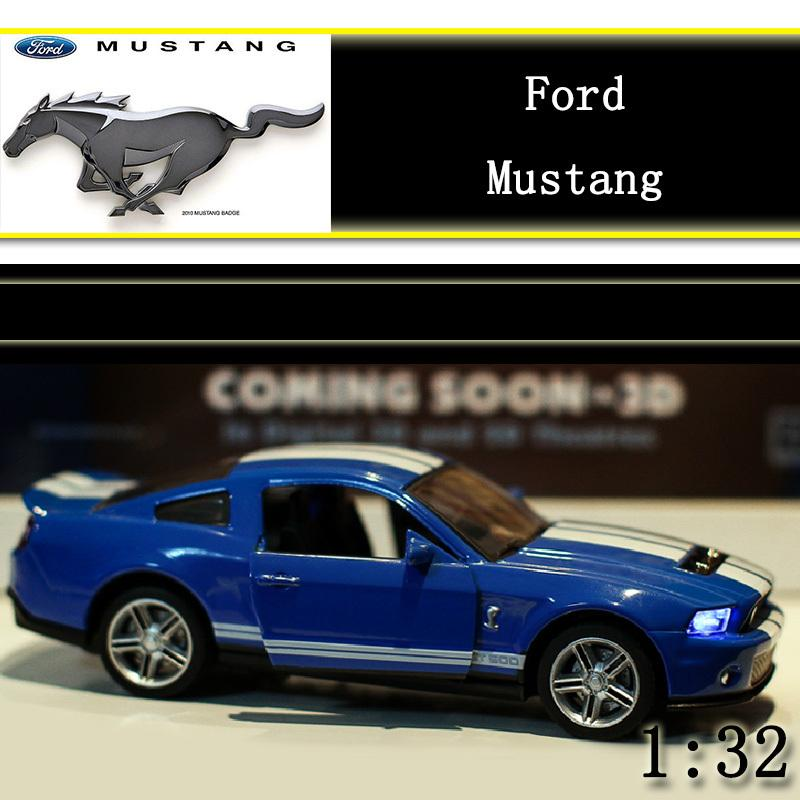 132 ford mustang super car model kids toys car classic alloy car model wholesale pull back