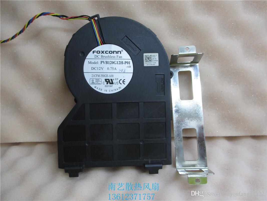 Foxconn PVB120G12H-P01 J50GH-A00, J50GH 0J50GH 12 V 0.75 4Wire DELL OptiPlex 790 990 390 SFF CPU Fan Soğutma Fanı
