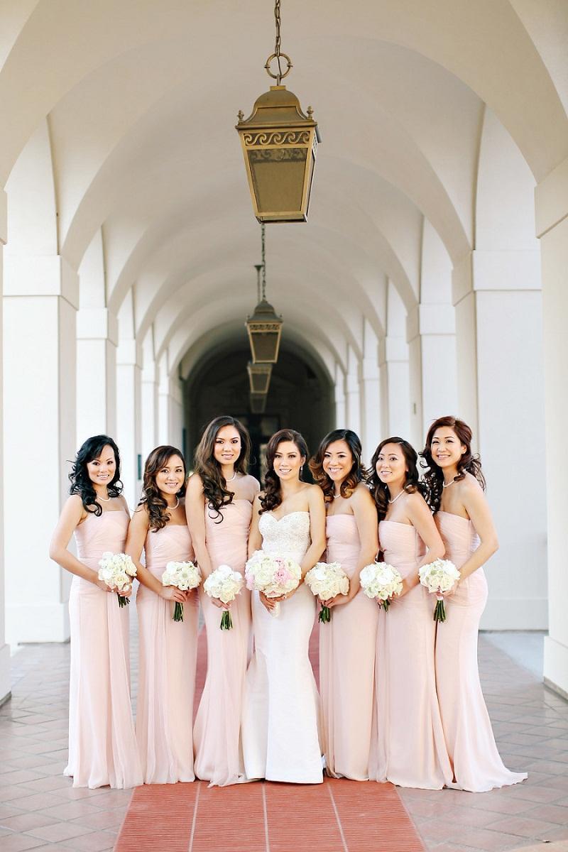 Blush pink chiffon bridesmaid dress image collections braidsmaid fashion blush pink chiffon sheath long bridesmaid dresses 2015 see larger image ombrellifo image collections ombrellifo Image collections