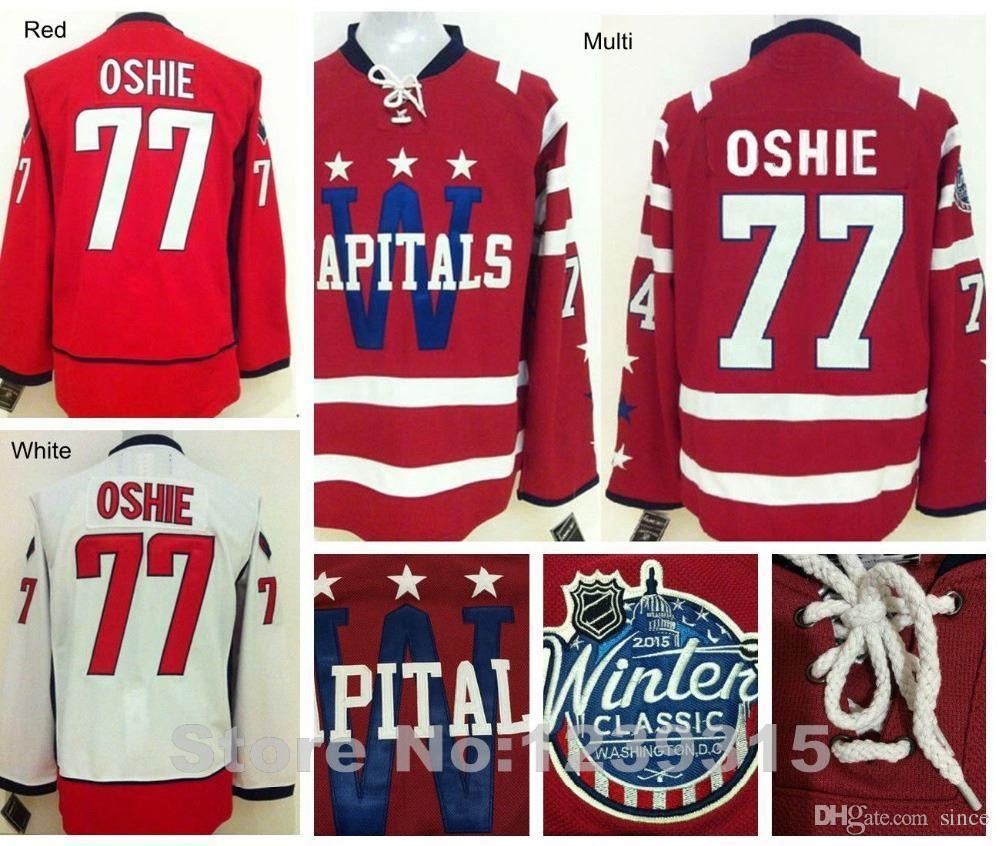 new styles accce ca2c7 2016 New, New 2016 Washington Hockey Jerseys #77 T. J. Oshie Jersey Home  Red Winter Classic Cheap Authentic TJ Oshie Washington Jersey