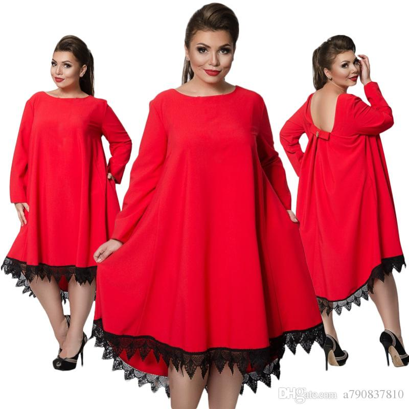Plus size L-6XL 2017 new Russian women's dress size dress, spring and autumn pure fashion elegant dress NYC404 Factory outlet wholesale