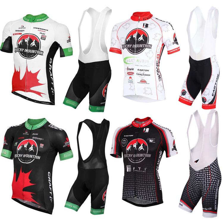 1190d6b88 Bicicletas Sale Ropa Ciclismo High Quality 2016 Rocky Mountain  Red Black White Jersey Cycling Short Sleeve Wear+Bib Shorts Sets Can Mix  Size Cycling Jersey ...