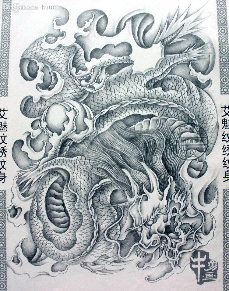 Wholesale PDF Format Tattoo Book Traditional Tattoo 124 Manuscript ...