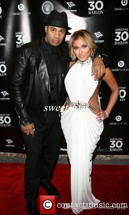 Stunning High Neck Crystal Beaded White Chiffon Adrienne Bailon Formal Celebrity Dresses Waist Cut Out Sexy Mermaid Prom Party Gowns 2016