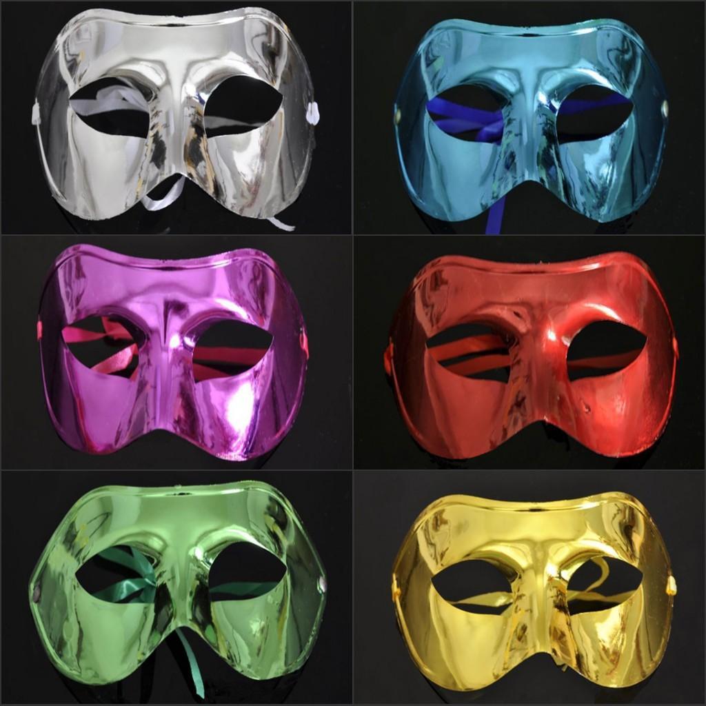 Satın Al Toptan Yeni Ucuz Basit Düz Boya Prenses Masquerade Maske