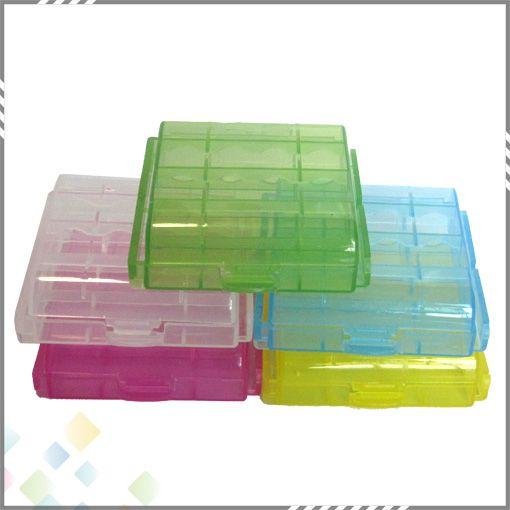 AA / AAA / 14500 / 10440 배터리 보관함 배터리 홀더 플라스틱 배터리 보관함 박스 휴대용 상자 DHL 무료