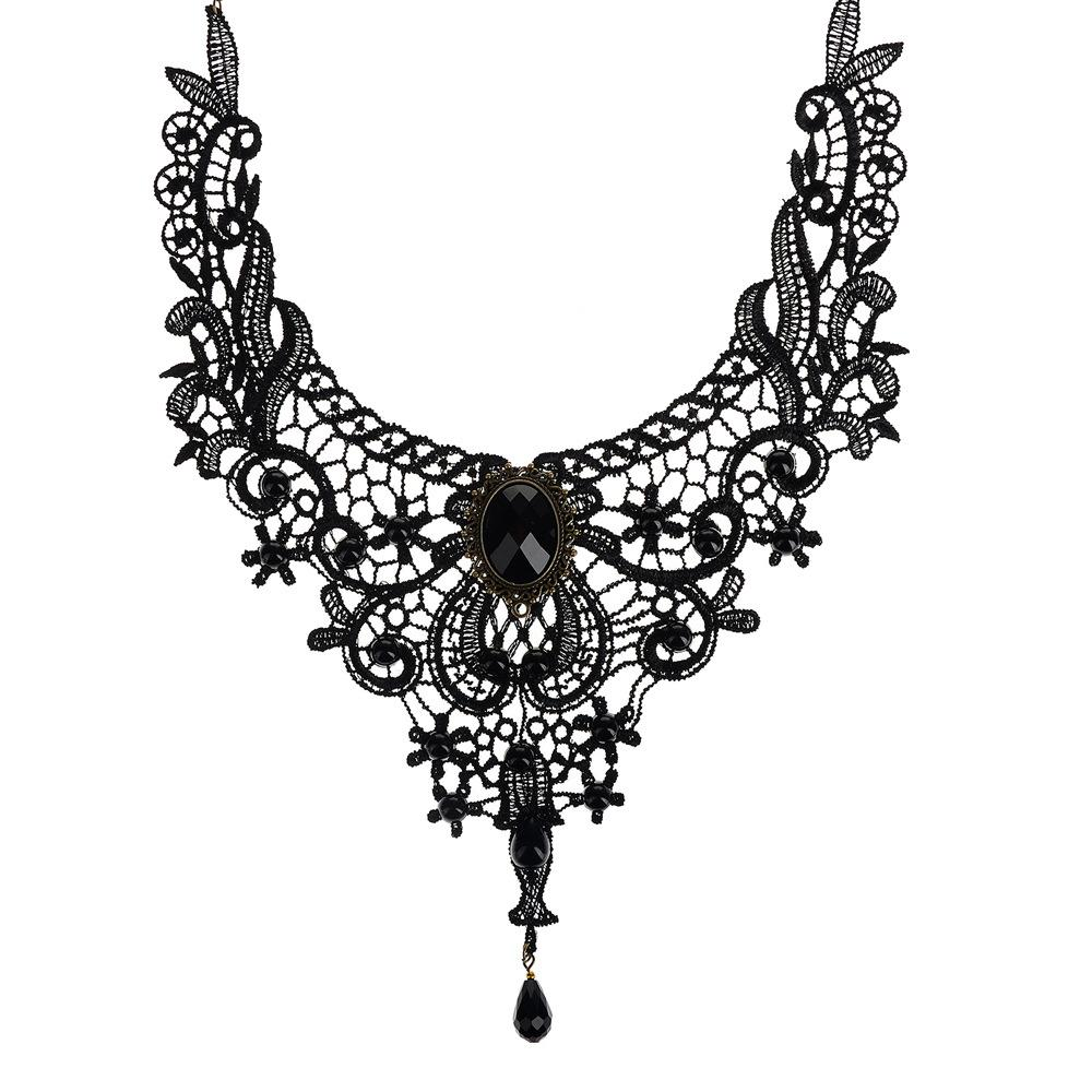 larger decarabia dead gothic deviantart goth l jewellery pinkabsinthe view necklace hand on by choker