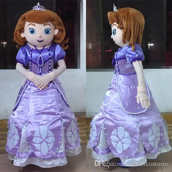 Free Shippping Cartoon Sofia the First Mascot Costume Princess Adult Sofia Costume for Adult to Wear Sofia the First Costume Princess Sofia Costume Sofia ... & Free Shippping Cartoon Sofia the First Mascot Costume Princess Adult ...