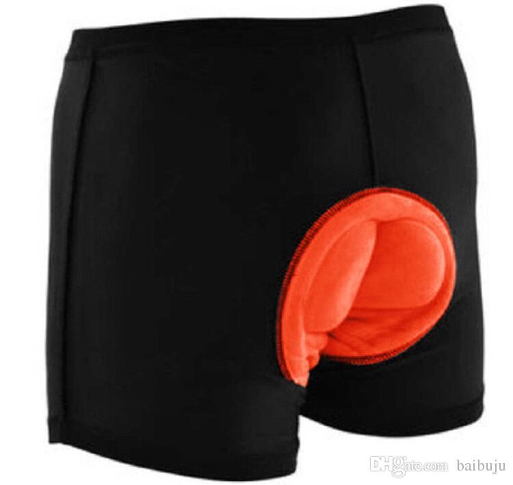 Hommes Cuissard Rembourré Vélo Gel 3D Vélo Vélo Shorts Padded Underwear Underpants Fitness Livraison gratuite