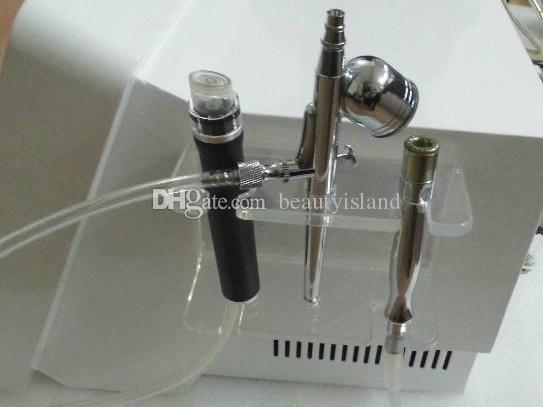 3 em 1 Hydrodermabrasão Diamond Microdermoabrasão Água Oxigênio Jet Diamante Pele Peeling Diamante Microdermoabrasion Máquina
