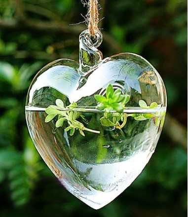 Love Heart Shape Hanging Clear Glass Vase 110x100x55mm, Garden Flower Vase,  / Home Decor Floor Vases Home Decor Glass Vases From Shen05, $38.22|  Dhgate.Com
