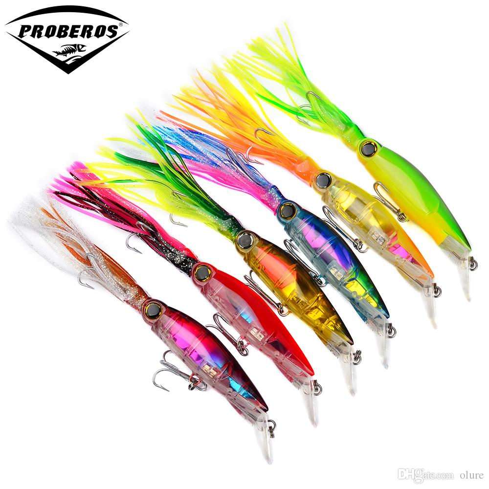 6pc/lot Top New Fishing lures 1 585oz-44 94g Fishing Bait 7 -17 78cm bass  6color fishing tackle Free Ship DW301
