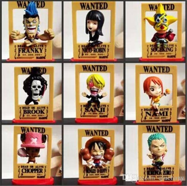 170618 QIUCHANY Anime MegaHouse Dimension Of One Piece 9 Boutique Pirates PVC 10CM Model Action Figure