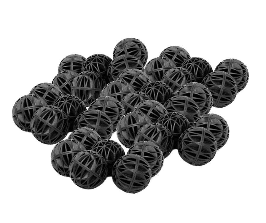 Les aquariums noirs accessoires 16mm bio boules bio aquarium étang poisson nano réservoir humide / sec filtre média filtrant