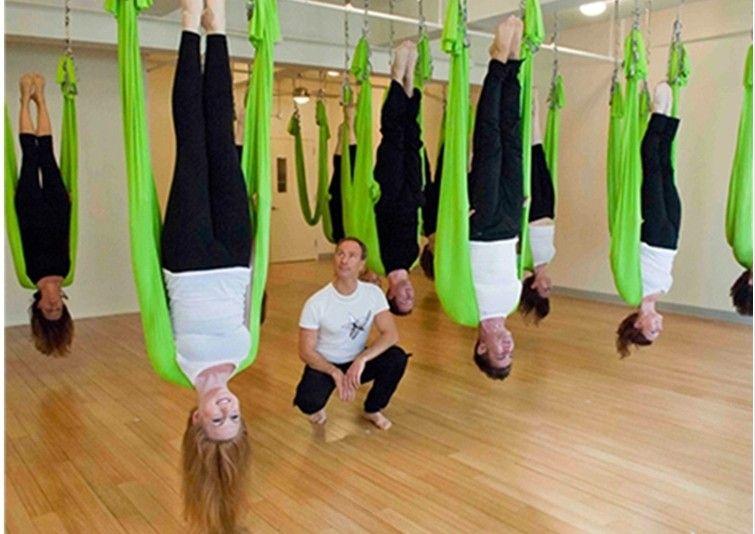 See larger image - Anti Gravity Yoga Yoga Swing Air Hammock Hammock Bed Rope Stretch