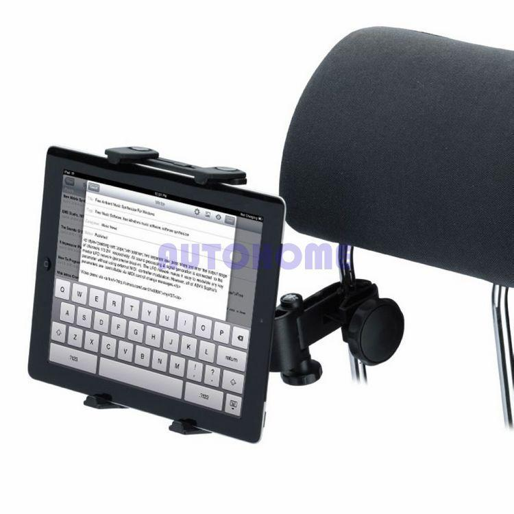 c0796936c5 1 X Car Auto Headrest Tablet Holder 360 Degree For iPad Epad Touch Pad 5-10  inches order<$18no track
