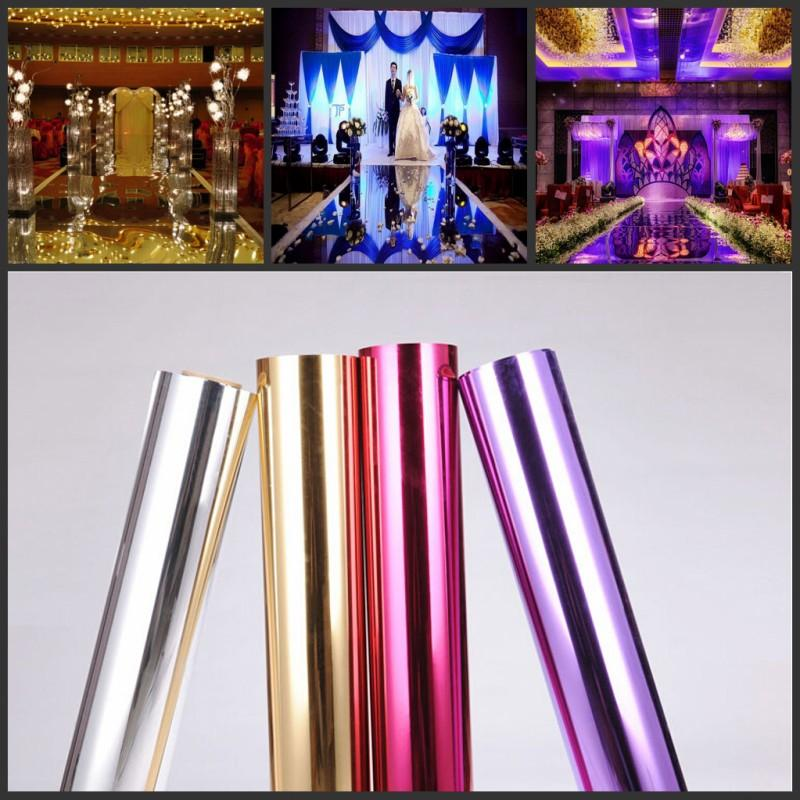 10mroll luxury wedding centerpieces aisle runner mirror carpets for t station decoration gold silver purple rose red available beautiful wedding decorations chinese wedding decorations from bestsellingwu 403 dhgate junglespirit Choice Image
