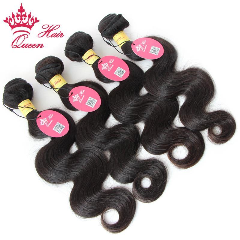 クイーンヘア100%未処理ペルーバージンヘアボディウェーブベストセラー製品トップ人間の髪織りDHL送料無料
