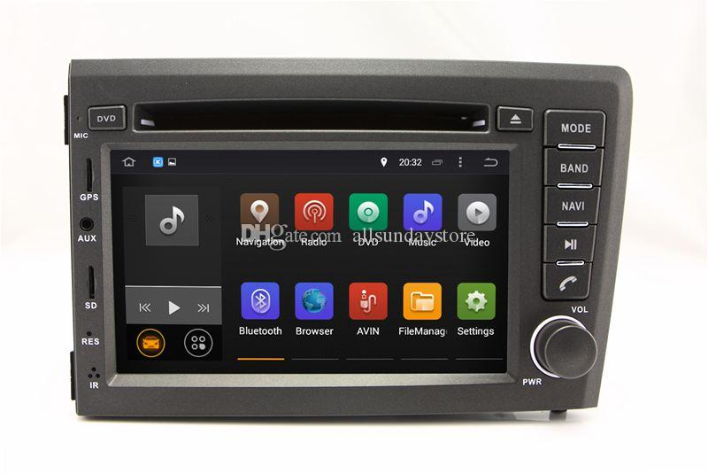 Android 7.1 Car DVD Player for Volvo S60 V70 2001 2002 2003 2004 with GPS Navigation Radio ...
