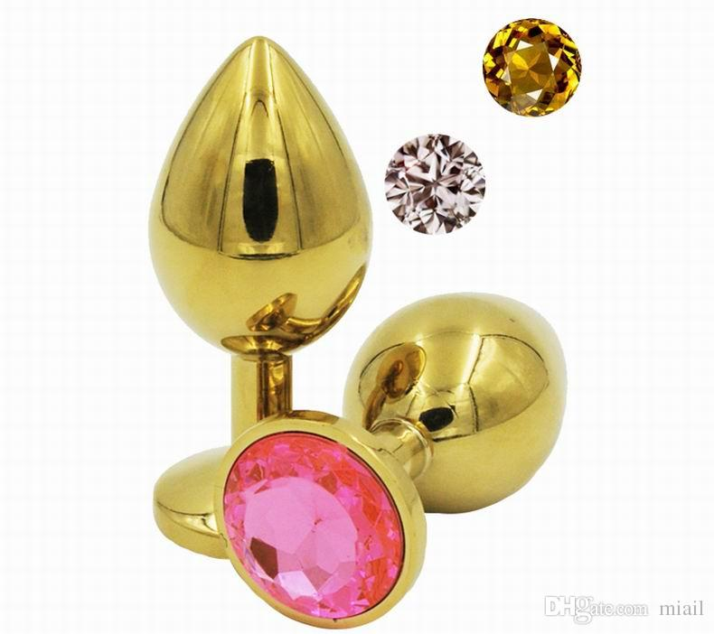 Small Size Metal Anal Toys Butt Plug Stainless Steel Anal Plug, Sex Toys Sex Products For Adults