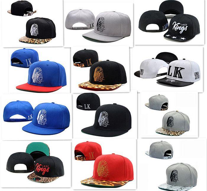 Hot Sale 23 Designs Adjustable Hats Caps Last King Hats Basketball Hats  Snapback HatsLeopard Hater Snapbacks Hip Hop D339 Custom Fitted Hats Design  Your Own ... 74069f81e145
