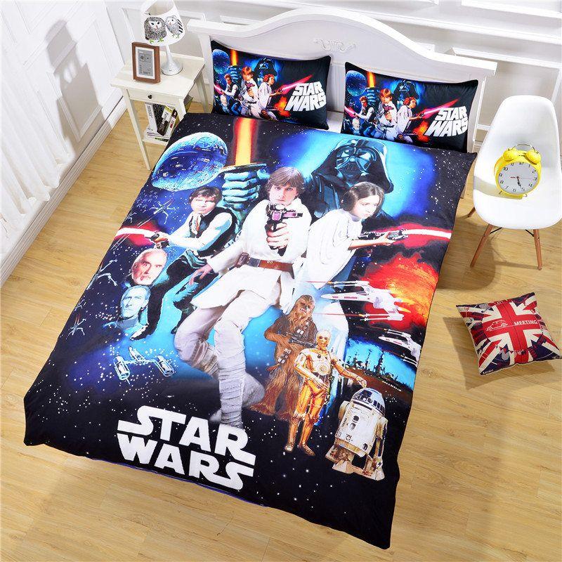Flash Sale Star Wars Bedding The Force Awakens 3d Unique Design ... : star wars quilted bedding - Adamdwight.com
