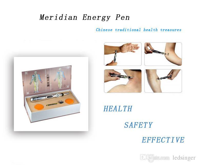حار بيع الطاقة خطوط الطول الوخز بالإبر الزوال القلم العلاج صك التدليك الإلكترونية القلم الصحة القلم