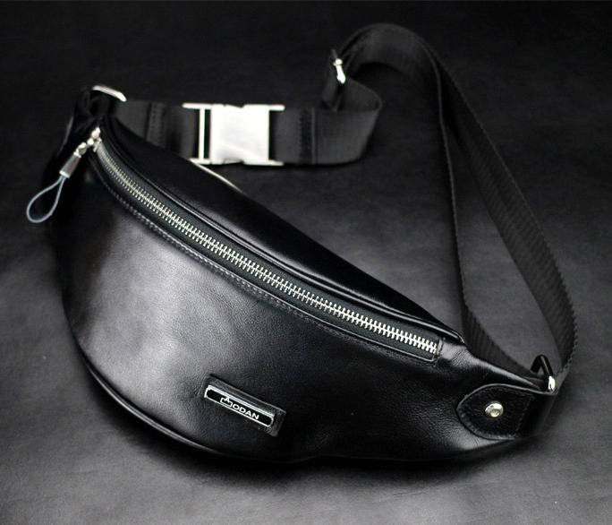 Genuine Leather Waist Bag Men Fanny Pack Leather Belt Bag Sport Waist Pack  Bag Money Belt Waist Pouch Men Messenger Bag W45 Concealed Carry Fanny Pack  Fanny ...