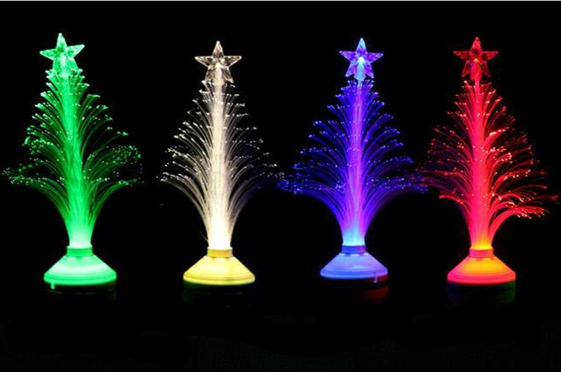 3W E27 AC85-260V LED Fiber Optical Flower Light Stage Light Christmas Tree Lamp For KTVs Home Decor lamp Festivals