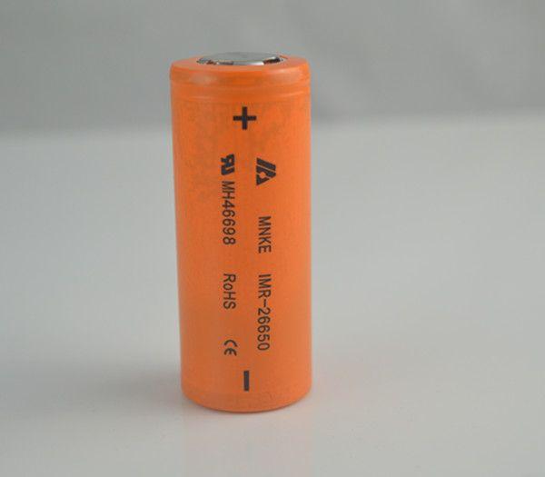 Mods mecânicos Fuhattan bateria 2015 IMR 26650 Bateria 3500 mah 30A 3.7 v Alto Ralo LIMN Recarregável Para 26650 Manhattan Mod