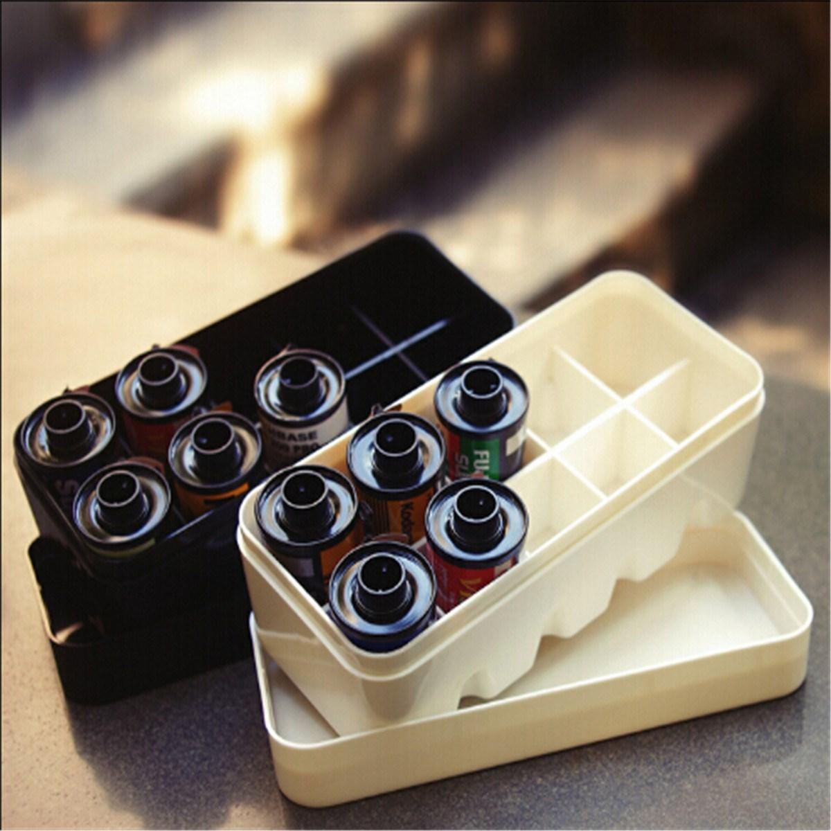 2019 Portable 10 Roll 35mm Film Case Storage Box With Lid