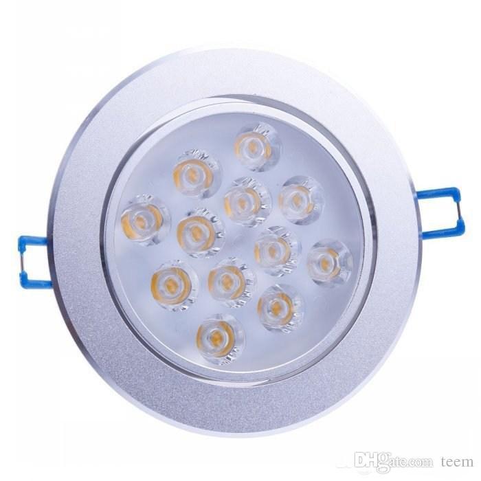 أدى ضوء السقف 36W 27W 21W 15W 12W 9W أدى كري راحة النازل مصباح الأضواء مصباح AC 85-265V أدى بقعة أسفل الإضاءة + السائقين