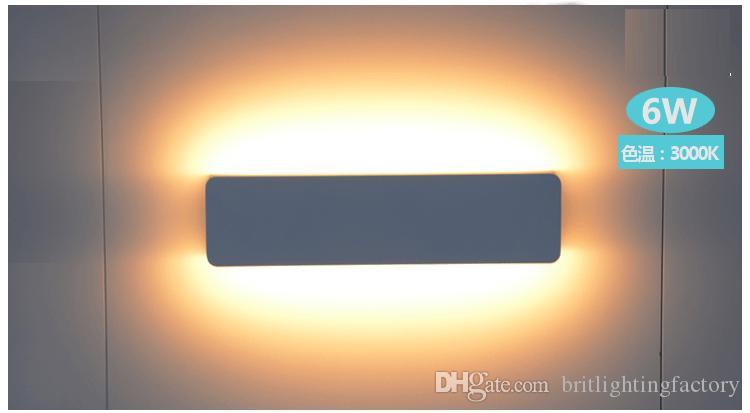 qualität 3w 6w led spiegel-front-wandleuchten ac85 ~ 265v moderne