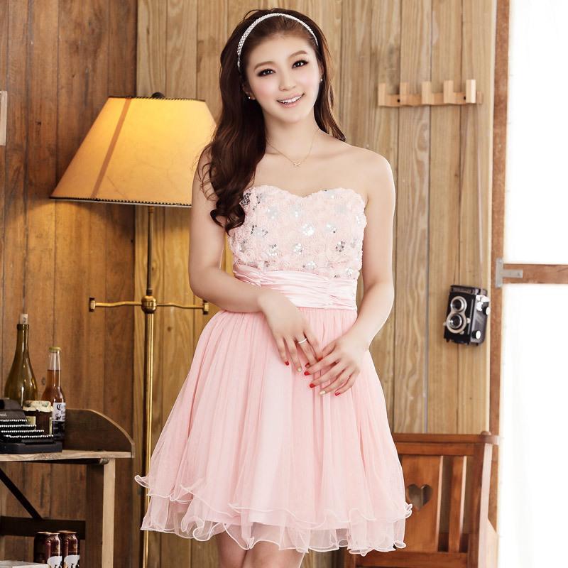 Guangzhou Xl Rose Lei Mesh Yarn Waist Skirt Wrapped Chest Bra ...