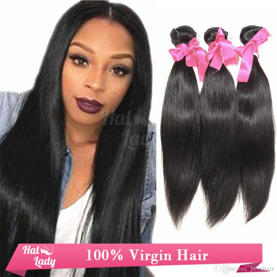 20 Discount Malaysia Straight Virgin Hair Weaves Cheap Halo Hair