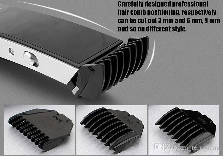 hot sale pritech mens rechargeable electric hair clipper professional hair clippers and trimmers for men cutting machine baber tool