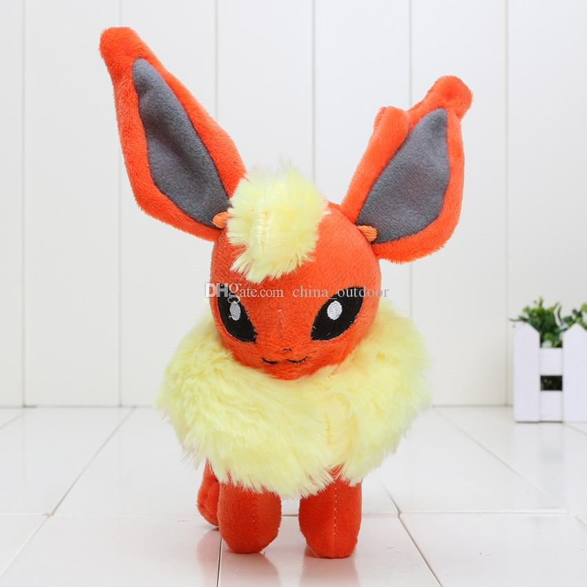 pikachu plush 6.5''-7'' plush toy Glaceon Leafeon Eevee Vaporeon Flareon Espeon Jolteon Umbreon stuffed Toy doll Best gift