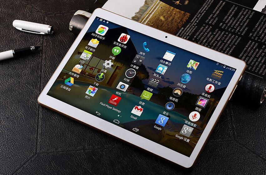 Phablet 9.6 inch Dual sim MTK6582 Android 4.4 3G GSM phone call tablet 1GB 16GB Quad Core Bluetooth Wifi DHL FREE