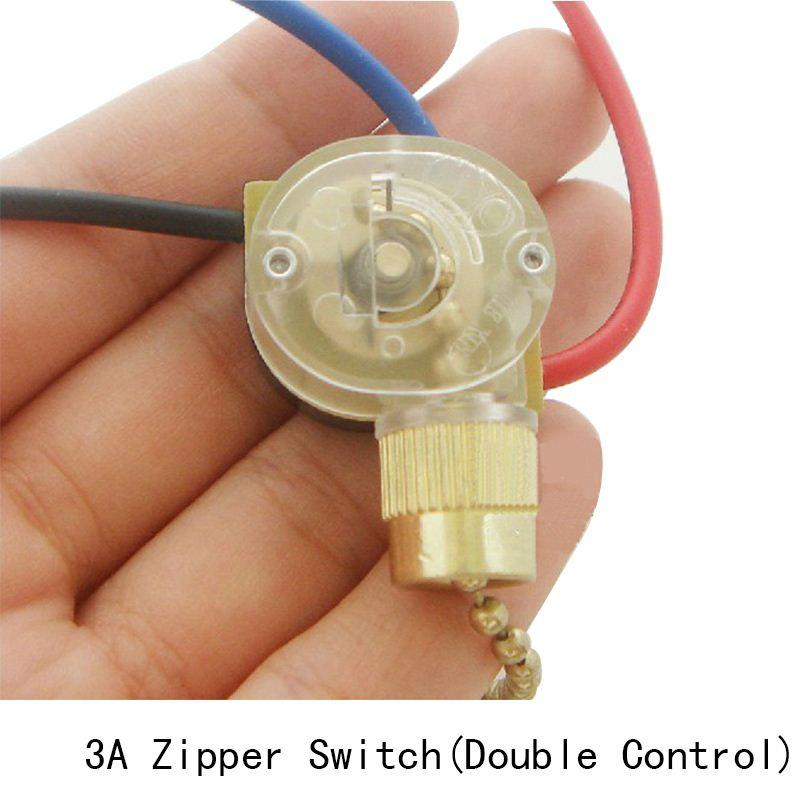 discount lamp zipper switch retro pull chain ceiling light wall lamp switch ceiling fan switch 3 wire double control switch from china dhgatecom - Ceiling Fan Switch