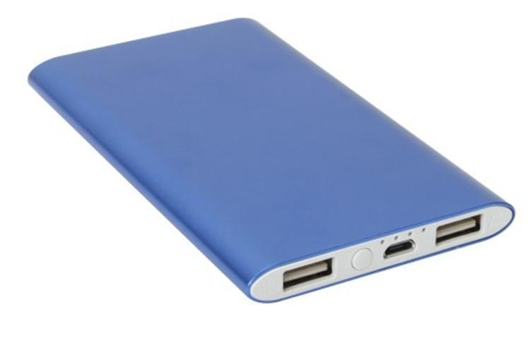 NEW hot 2 USB output High Quality Polymer Power Bank 10000mah Portable Phone Battery Chargers - Can printed LOGO