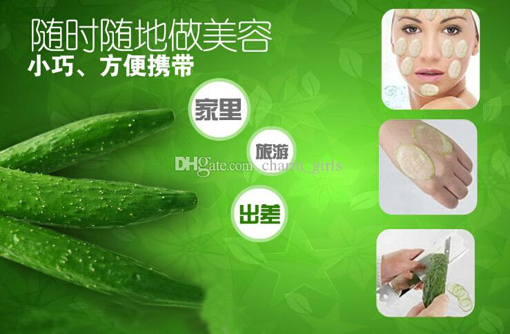 DIY Applied Cucumber Slices Mask Slicer Cucumber Beauty Knife Face Skin Care Tool Take the mirror Natural facial mask making tools