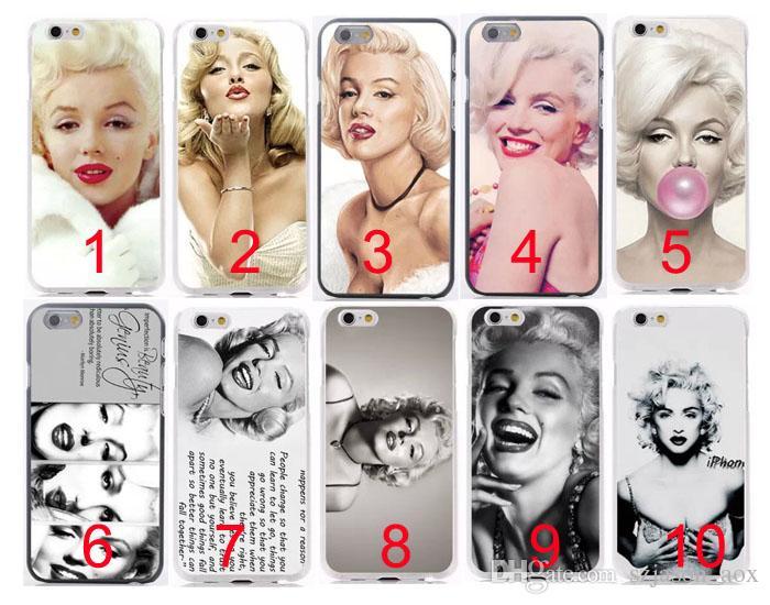 Retro Sexig Marilyn Monroe för iPhone6 i6 iPhone 6 Plus 4.7