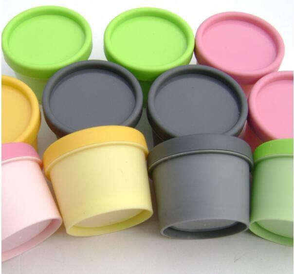 화장품 용기는 실린더 용량 50g 마스크 PP 병, 얼굴 마스크 크림 항아리 단지 충전 containerssplit