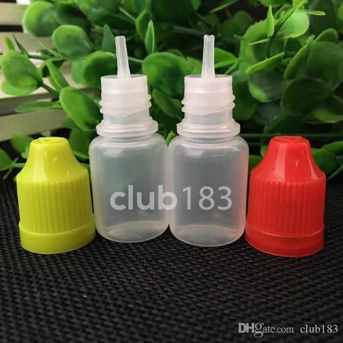 Freie Verschiffen-Qualitäts Leere Flasche aus Kunststoff Tropfflasche mit Kappe leeren E Flüssiges Öl-Flasche